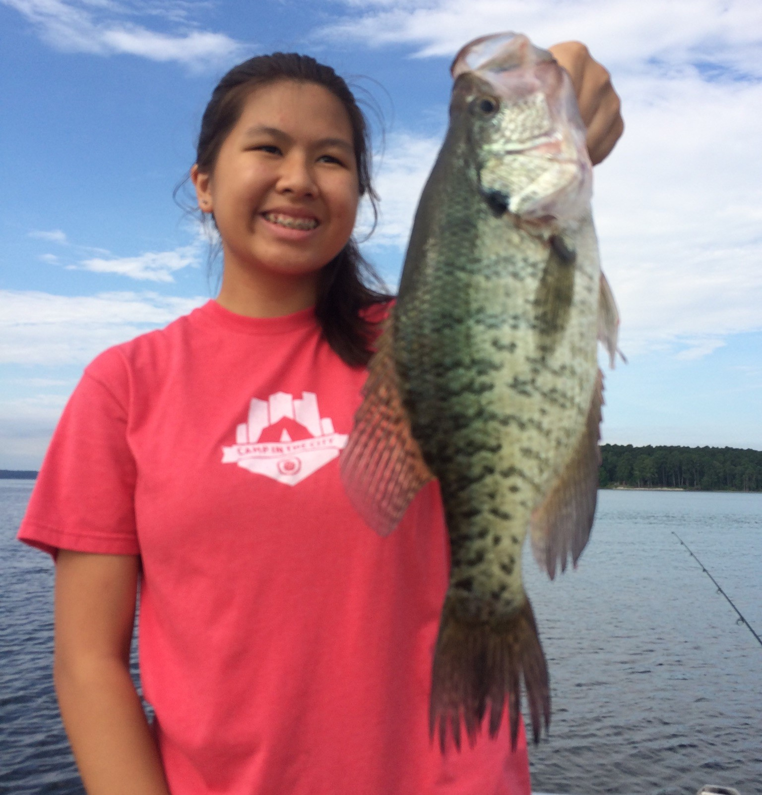 Kids Fishing, crappie guides on Toledo Bend